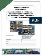 Laboratorio 3 - Tarea 6 - Desmontaje y Montaje de Rodamientos Carb Con Tuerca Hidraúlica