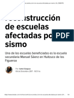 06-12-2017 Inicia Reconstrucción de Escuelas Afectadas Por Sismo.