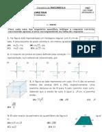 Teste Geometria 1.1.A