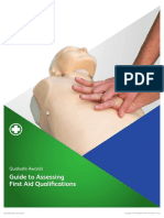 QA Guide to Assessing First Aid Qualifications
