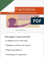 07 - Staff Motivation