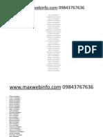 website designing all cities 09843767636
