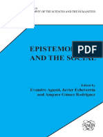 Evandro Agazzi, Javier Echeverria, Amparo Gomez Rodriguez-Epistemology and the Social. (2008)