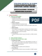 1.4 ESPECIFICACIONES TECNICAS - RESERVORIO1.pdf