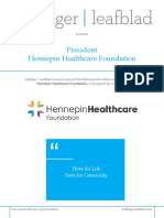 Executive Position Profile - Hennepin Healthcare Foundation - President
