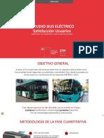 Presentación Estudio Evaluación Bus Eléctrico Satisfacción Usuarios (Ejecutivo)