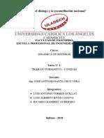 Tarea N° 01 Trabajo Formativo  I Unidad - Luis Alberto rivas canova