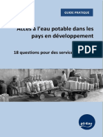 Guide Pratique PS EAU 18 Questions Services Durables
