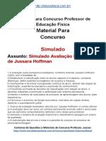Simulado Concurso Professor de Educacao Fisica Material Gratis Concurso SEDUC Simulado Avaliacao Mediadora de Jussara Hoffman Docx