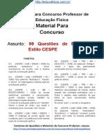 Simulado Concurso Professor de Educacao Fisica Material Gratis Concurso SEDUC Simulado 99 Questoes de Portugues CESPE Docx