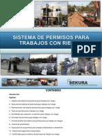 Sistema de Permisos Para Trabajos Con Riesgo Configurado Ppt