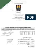 Aplicacion de La Formula de Hazen-Willia