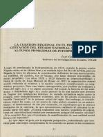 Chiaramonte La Cuestion Regional...