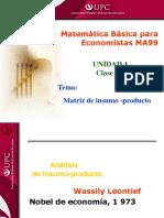 Clase 9.1 MBE (Matriz de insumo-producto ).ppt