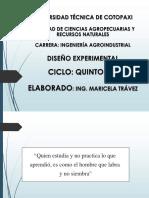 Clase 2. Diseño de Experimentos