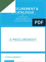 E-Procurement Dan E-Catalog