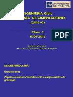 02) Ing de Cimentaciones - Clase 2 (11!01!16)