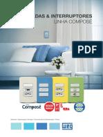 WEG Tomadas Interruptores Compose 50058899 Catalogo Portugues Br (1)