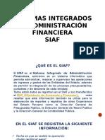 Sistemas Integrados de Administración Financiera
