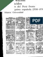 Los vencidos. Los indios del Perú frente a la conquista española (1530-1570) - Wachtel, Nathan.pdf