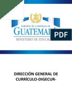 Formación CD Digecur