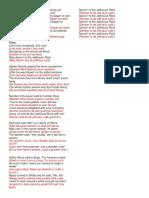 Letra de Jailhouse