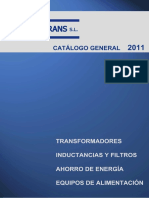 CatalogoProductos - TORYTRANS  2011