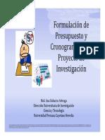 Cronograma Presupuesto Ana Sobarzo (2012!06!27)