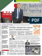 Diario la República JULIO 03 DE 2018