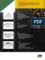 Flyer Actualizado Kits de Reparación Para Motores Cat