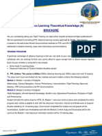 ATPL Distance Learning - Brochure