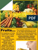 82 Fruits Vegetables