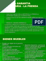Ley de Garantia Inmobiliaria -La Prenda