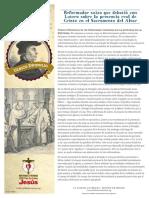 Ref500-Zwingli Handout Spanish