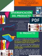 ESTRATEGIA DE DIVERSIFICACIÓN DE PRODUCTOS