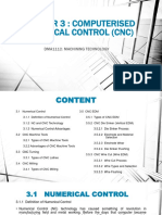 Chapter 3 Computerised Numerical Control (Cnc)
