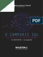 6º Camporee Sul Boletim 1