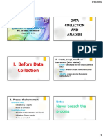 4 Data Analysis Process (Black and White) - Graduate Thesis Process