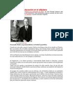 Adventismo y Educación en El Altiplano