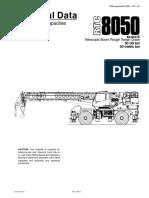 Ficha Técnica RTC8050 Grua Link Belt