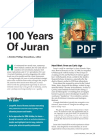 Juran 100 Years