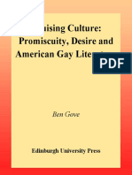 (Tendencies_ Identities, Texts, Cultures) Ben Gove-Cruising Culture_ Promiscuity and Desire in Contemporary American Gay Culture-Edinburgh University Press (2000)