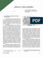 Luis Felipe Bramont Arias-Torres - Delitos Económicos y Bien Jurídico