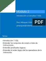 Modulo 2 Introduccion a Transact SQL.pdf