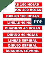 ETIQUETAS CUADERNOS