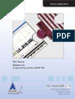 PLC-Driver (V5) Bosch CL - Programming Interface (BUEP19E)