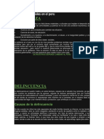 Problemas Sociales en El Peru