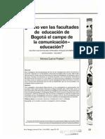 Dialnet-ComoVenLasFacultadesDeEducacionDeBogotaElCampoDeLa-4907018