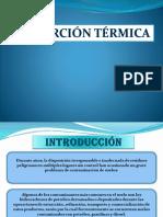 desorcion termica