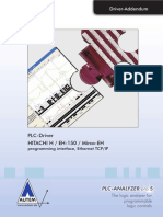 PLC-Driver (V5) HITACHI H EH-150 Micro-EH - Programming Interface - Ethernet TCP-IP
